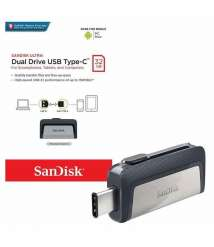 SANDISK OTG Type C Flash Memory 32 GB
