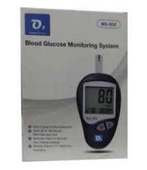 Blood sugar test device O2