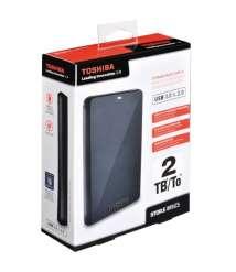 Toshiba External Hard Disk Drive 2 TB