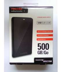 Toshiba External Hard Disk Drive 500GB
