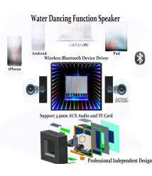 ٍٍSpeaker Wireless water LED Light and Mirror