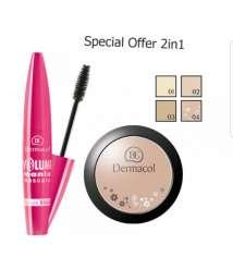 Free Mascara With Powder Dermacol