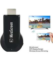 MiraScreen Wireless WiFi Display Dongle 1080P HDMI TV Stick Screen Mirroring Miracast DLNA Airplay-Black