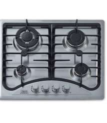 Built in Hob 3 Gas 1 Turbo Stainless steel Alanwar Font positions