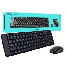 Logitech MK220 Wireless Keyboard Mouse Combo English Keypad LapTop OpticalCombo English Keypad LapTop Optical Ergonomics