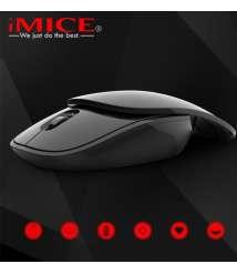 IMICE E-1100 2.4G Wireless Slider Mute Mouse Portable Belt