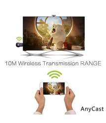 Anycast Wireless WiFi 1080P HDMI Display TV Dongle Receiver- Black