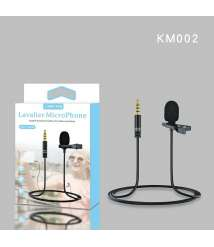 LAVALIER MICROPHONE Easy Clip On System Perfect for Recording