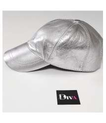 Leather Casket Silver