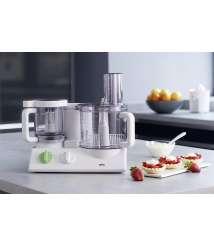 Braun food processors (Green, White, Plastic) 600 Watt