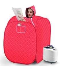 Portable Steam Home Sauna Set Body Massage Women Household Personal Sweat Box Kotak Sauna