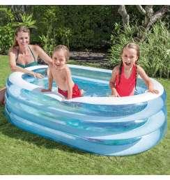 INTEX Kids Outdoor Inflatable 163 x 107 x 46 cm