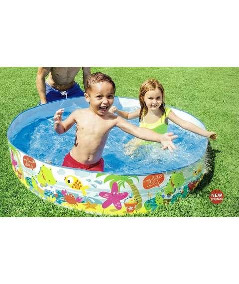 Intex Pool 152*25 CM Deep Blue