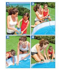 Intex Pool 122*25 CM Deep Blue