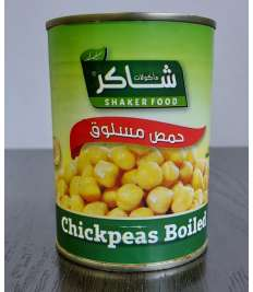 Chickpeas Boiled 400G