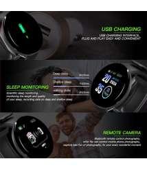 D18 Smartband Smart Watch Bracelet Pressure IP68 Waterproof Heart Rate Monitor Fitness Tracker Watches