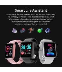 D20 Bluetooth Smart Watches Waterproof Sport Fitness Tracker Smart Bracelet Smartwatch
