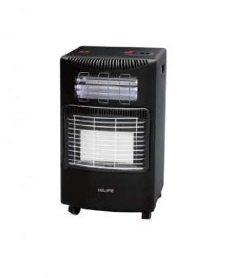 Hi Life Gas/Electric Heater with Turbo Fan