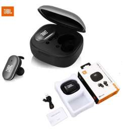 JBL Bluetooth Earphone Wireless Earbuds T770 TWS Touch Control with Charging Case Twin Sided Earbud 5.0 Bluetooth with microphone Super Bass