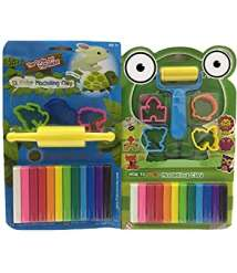 A package of shapes paste for children 8 colors