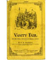 """Vanity Fair"" by the English writer William Makepeace Thackeray"