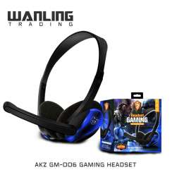 Headphones For Gaming Series GM-006 with Microphone
