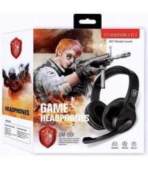 Headphones For Gaming Series GM-001 with Microphone
