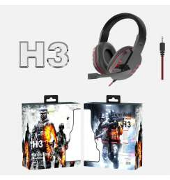 Headphones For Gaming Series H3 with Microphone