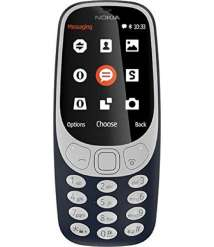 MOBILE Nokia 3310 Dual SIM Feature Phone with MP3 Player, Wireless FM Radio and Rear Camera)