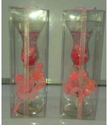 A cup of gel blossom size 25 cm