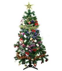 Christmas tree 150 cm electrostatic light