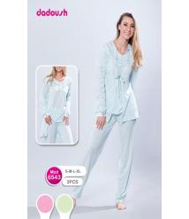Dadoush 3-piece Winter Pajamas