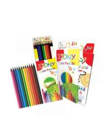 Add 12 color long crayons