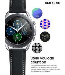 Samsung Galaxy Watch 3 (41mm, GPS, Bluetooth) Smart Watch with Advanced Health Monitoring, Fitness Tracking , and Long lasting Battery