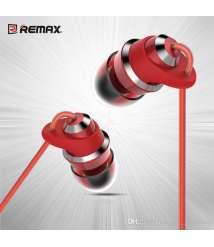 100% Original Remax RM-585 HD Metal Music In Ear Headphones Handsfree