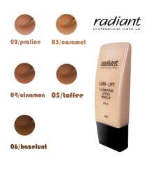 LUMI-LIFT Foundation Brand RADIANT