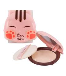 TONYMOLY CATS WINK CLEAR PACT02