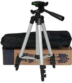 Tripod Mobile phone holder and camera